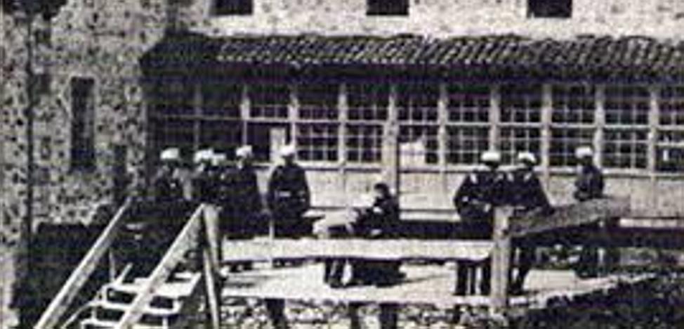 La histórica ejecución con garrote vil en Bergara