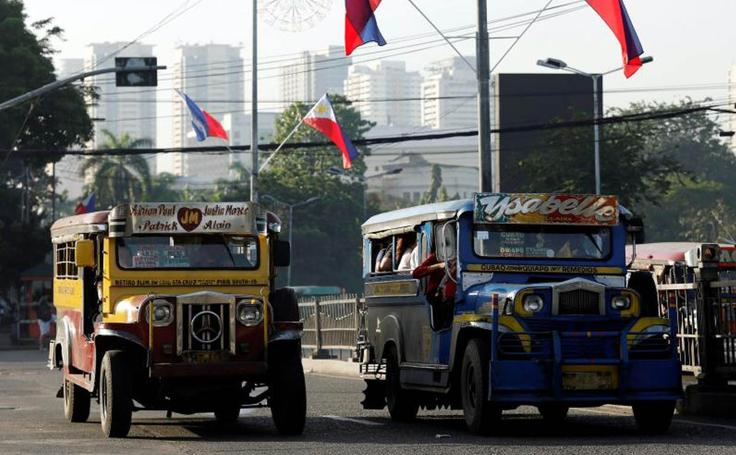 Filipinas se queda sin 'jeepneys'