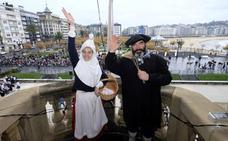 Recorridos y horarios de Olentzero y Mari Domingi por los barrios de Donostia