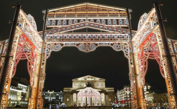 Rusia se viste de Navidad