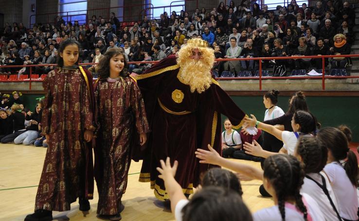 Los Reyes Magos, en Eibar