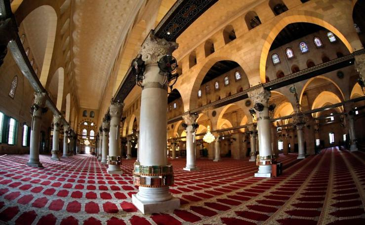Lavado de cara para la mezquita de Al-Aqsa