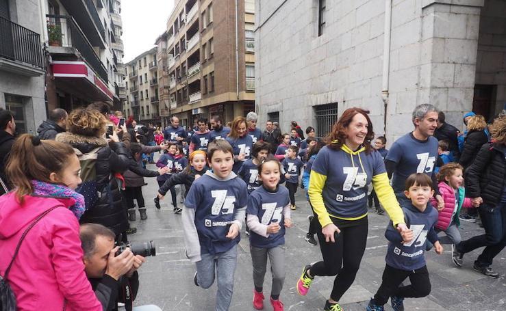 Fiesta atlética conmemorativa del 75 aniversario del Cross Muguerza