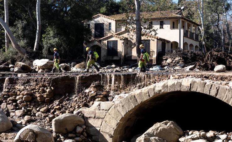 Mortales inundaciones en California