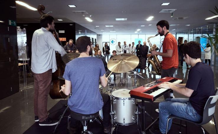 'Píldoras musicales' en el Onkologikoa