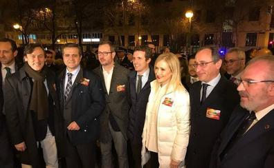 Dirigentes del PP vasco se suman al homenaje a Ordóñez en Madrid