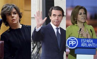 Santamaría, Cospedal y Aznar, juntos este sábado en la entrega del premio Gregorio Ordónez a Manuel Valls