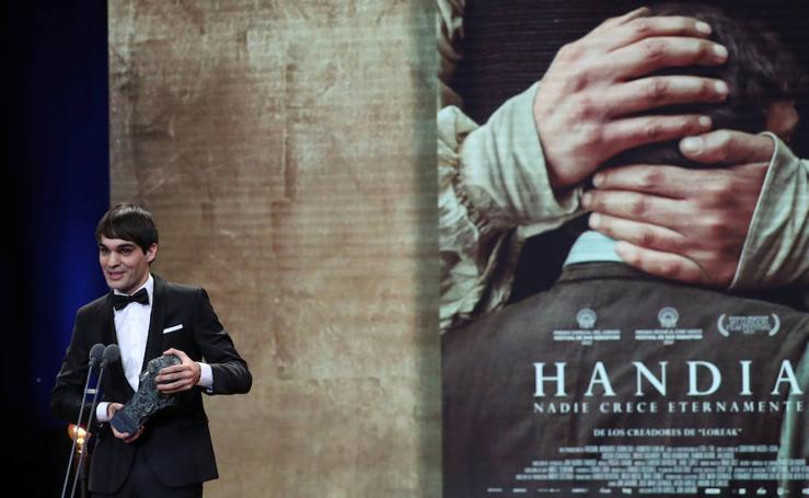 'Handia' triunfa en los Premios Goya