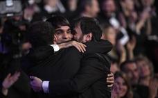 Noche triunfal de 'Handia' con diez Goyas pese a quedarse sin el premio a la mejor película