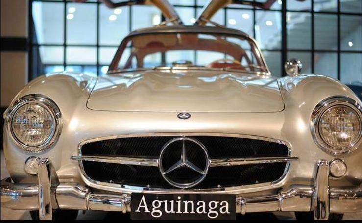 Los clásicos de Mercedes-Benz se dejan ver en el Museo Aguinaga