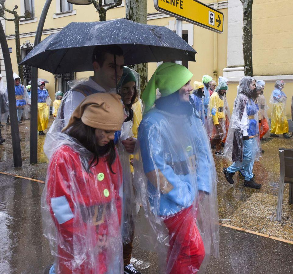 Astelenita bajo la lluvia en Tolosa