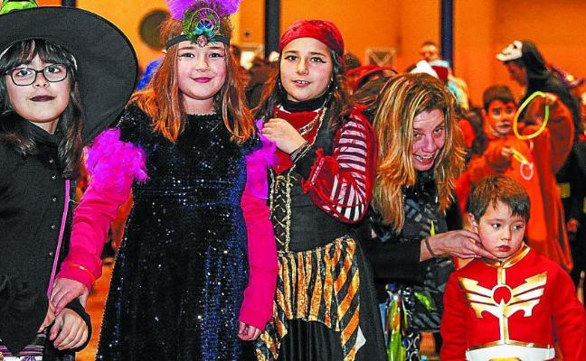 Los de Etxeberri, de lo más carnavaleros