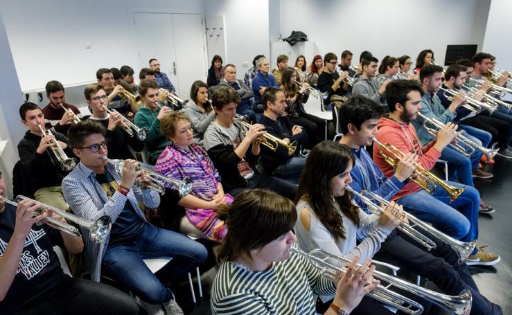 Musikene abre sus puertas a nuevos trompetistas