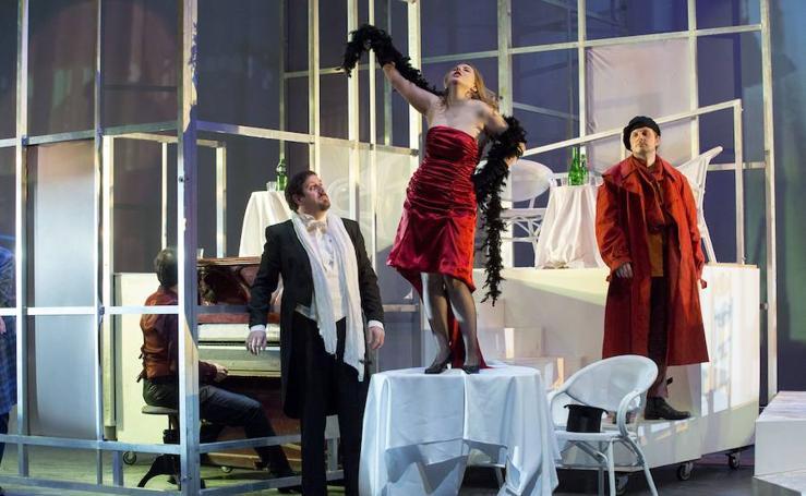 Las pasiones de una 'Bohème' que va «directa al corazón» llegan al Kursaal