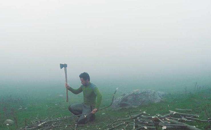 José Díaz plasma en un documental su vivencia como ermitaño