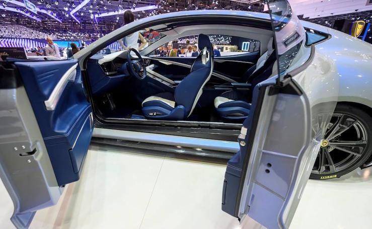 Los coches del futuro, en Ginebra