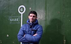 Jokin Altuna, pelotari: «Estoy feliz por el año; por el triunfo en el Cuatro y Medio»