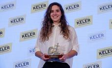 Irene Caminos, ciclista de trial: «Premios como este dan visibilidad al trial»