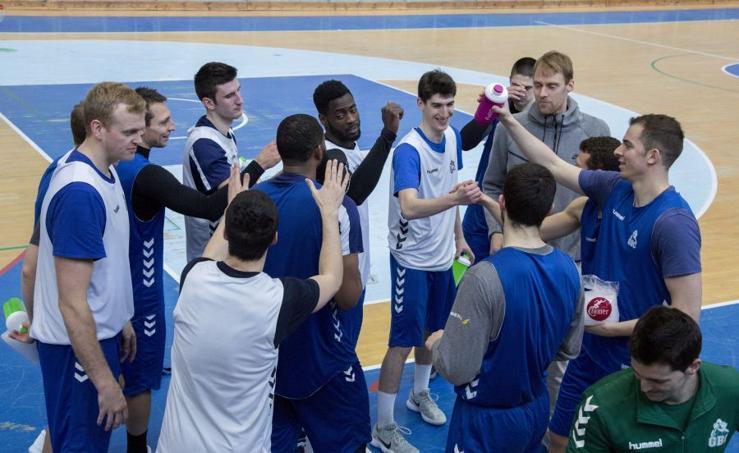 El GBC prepara su encuentro ante el Murcia