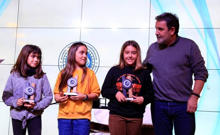La Federación Vasca de Surf entrega sus premios
