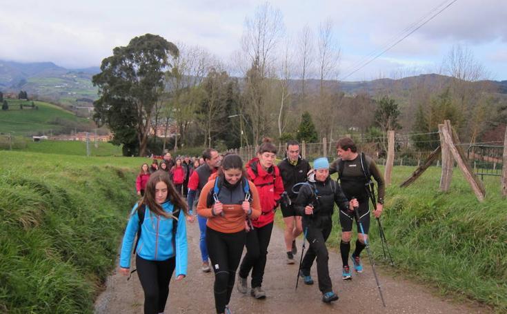 Exitosa marcha montañera en Amasa-Villabona