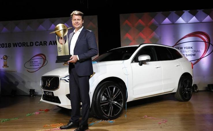 El Volvo XC60, Automóvil Mundial del Año