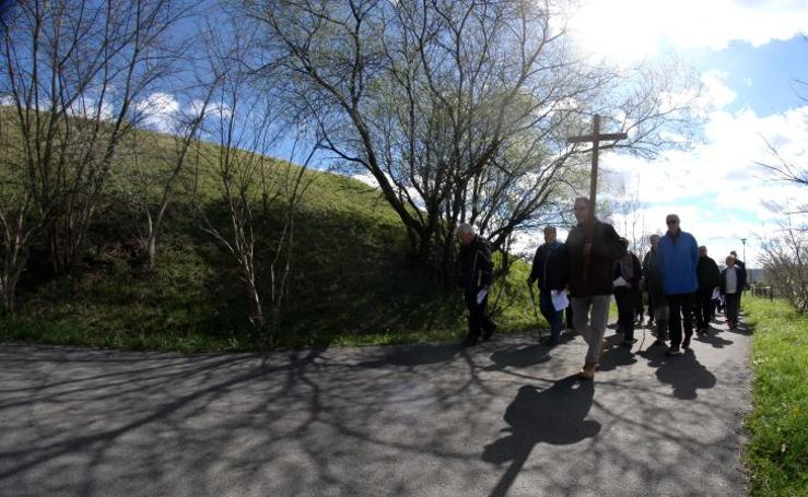 Via Crucis de Zamalbide a San Marcos