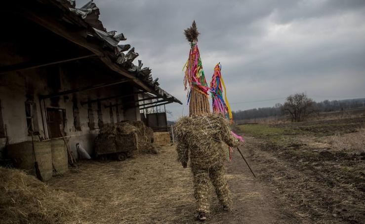 'Marching Judas', una tradición checa de Pascua