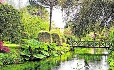 El jardín más romántico del mundo