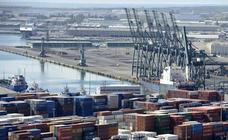 El déficit comercial sube el 6,3% hasta febrero y se sitúa en 6.103 millones