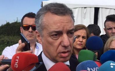 Urkullu reclama a ETA que añada que el daño causado fue «injusto»