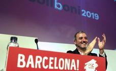 Jaume Collboni, proclamado por segunda vez candidato del PSC a la Alcaldía de Barcelona