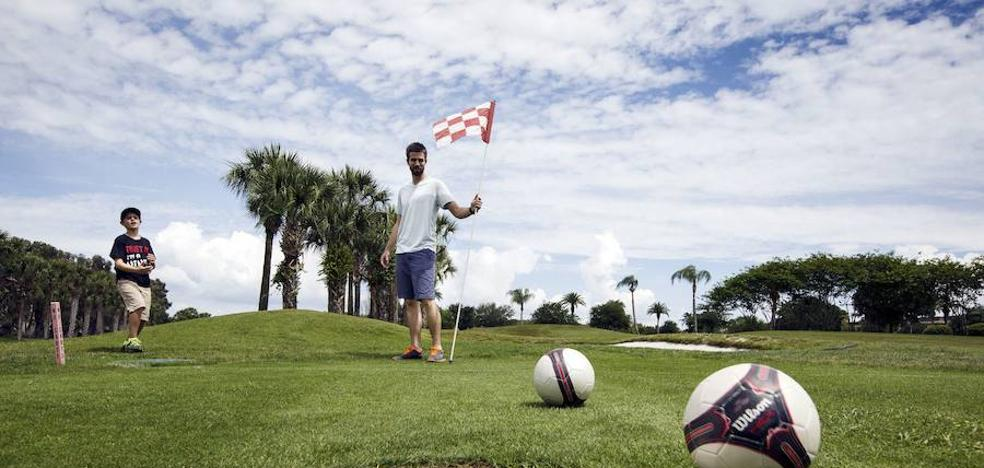 El golf que se juega con los pies