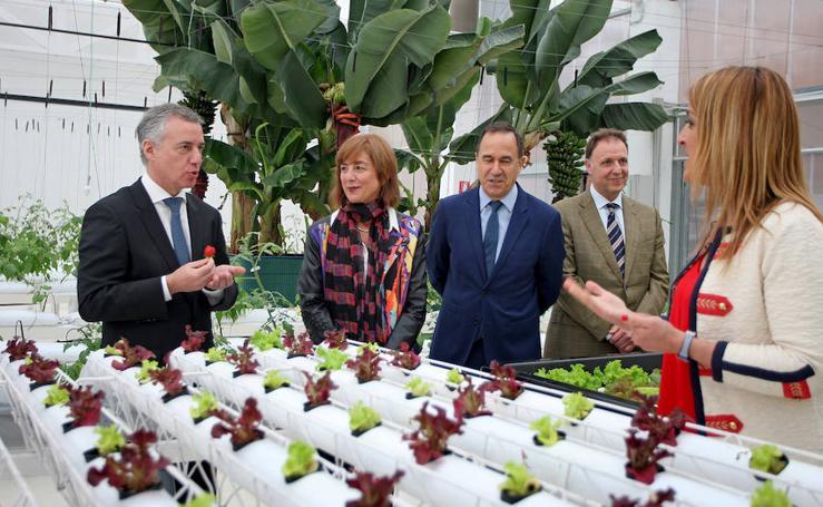 El lehendakari visita las instalaciones de Tknika en Errenteria