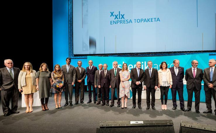 El lehendakari clausura el 29 Encuentro Empresarial de Elkargi