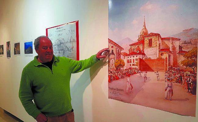 Finaliza hoy en Biteri la interesante exposición sobre frontones