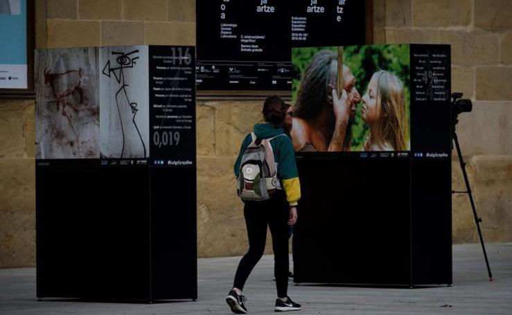 La herencia cultural de la Edad de Hielo, en San Sebastián