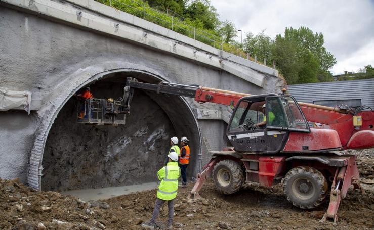 Las obras del Metro avanzan y ya empieza la fase subterránea