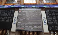 El Ibex-35 gana un 3,96% en abril y se queda a las puertas de los 10.000