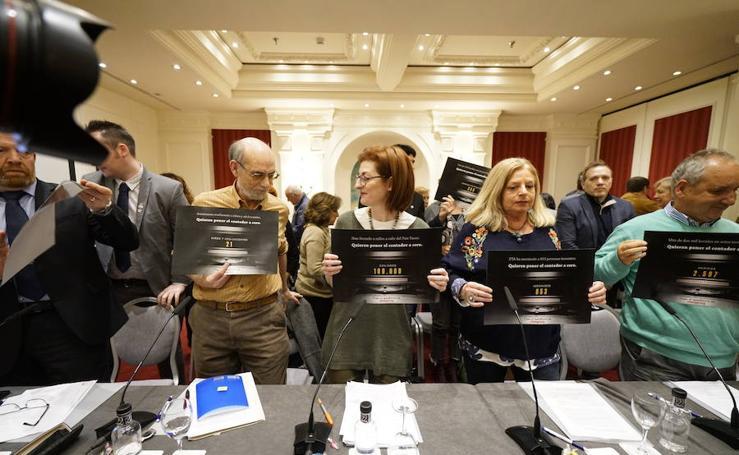 Presentado en San Sebastián el manifiesto 'ETA quiere poner el contador a cero'