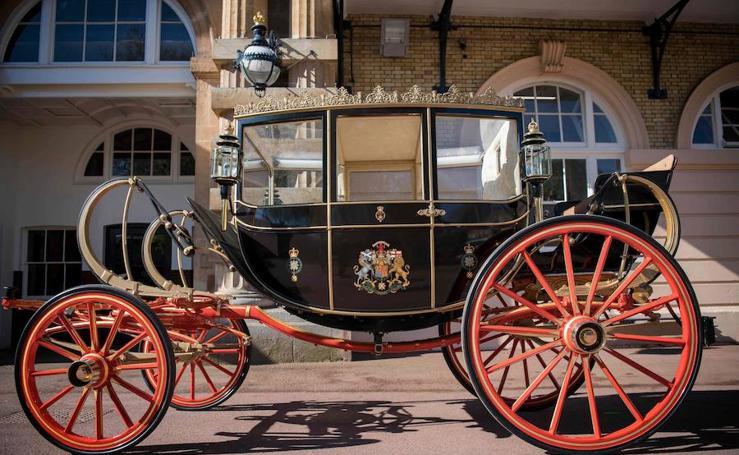 Un carruaje Real y de boda