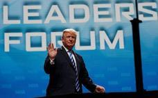 Trump promete defender a los amantes de las armas mientras sea presidente