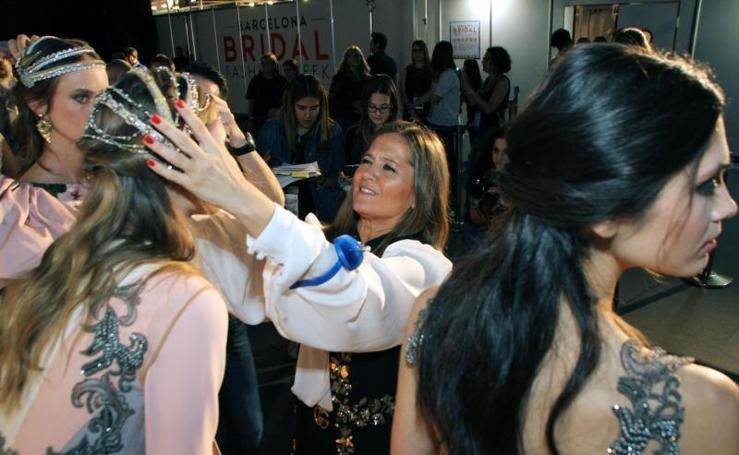 Desfile de moda en el Museo San Telmo