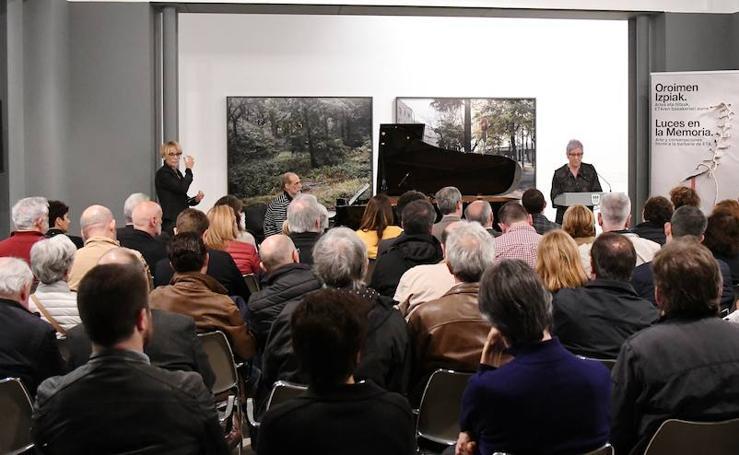 Clausurada en San Sebastián la exposición 'Luces en la memoria'