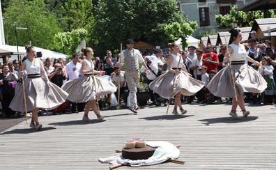 Goiburu convenció al jurado popular en la feria del queso vasco de Idiazabal