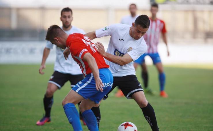 Real Union-Sporting de Gijón B, en imágenes