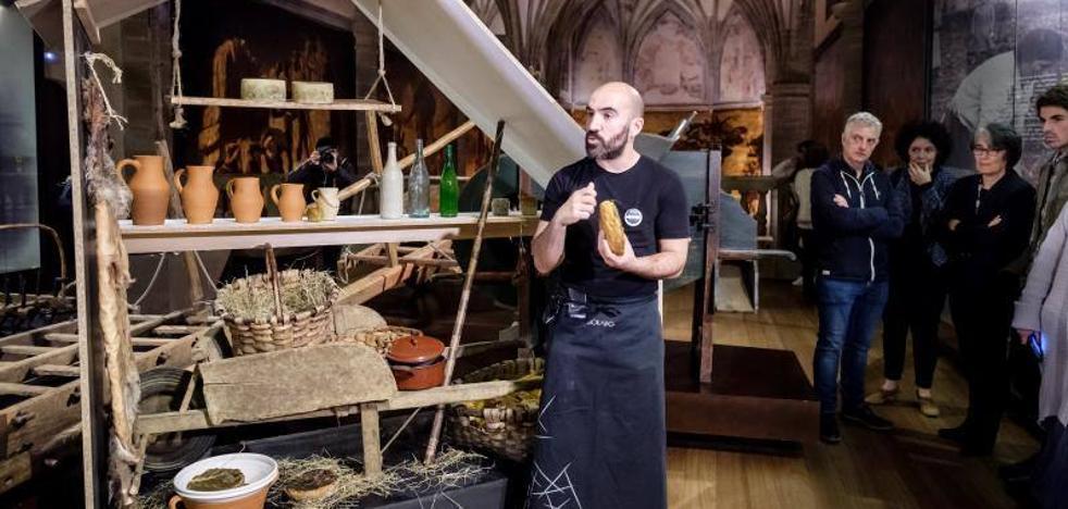 San Telmo invita a 'degustar' la historia vasca