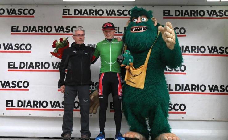 Vuelta ciclista al Bidasoa, en imágenes