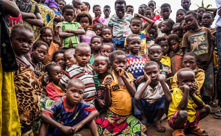 Los niños del Congo necesitan tu ayuda