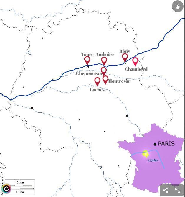 Los mejores planes para el valle del Loira